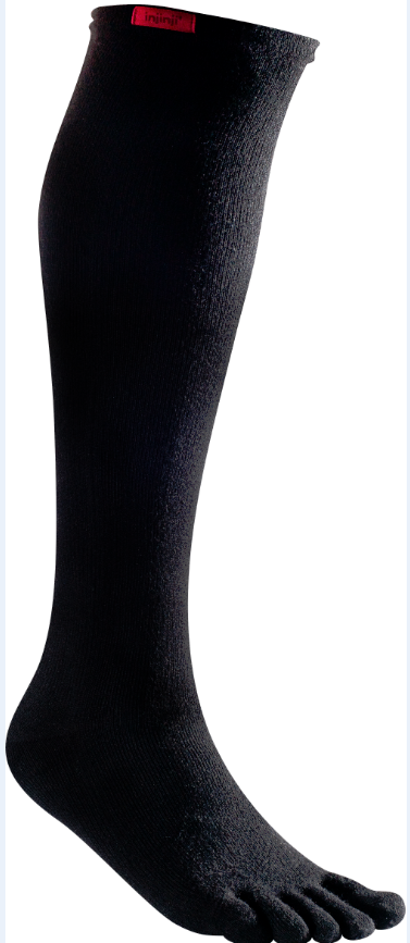 Toe compression sock